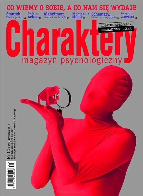 Smutni odzawsze, Charaktery 11/2012, depresja, psychologia ewolucyjna