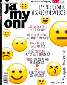 Ja My Oni, Poradnik Psychologiczny Polityki - tom 27 - pozytywna psychologia porażki