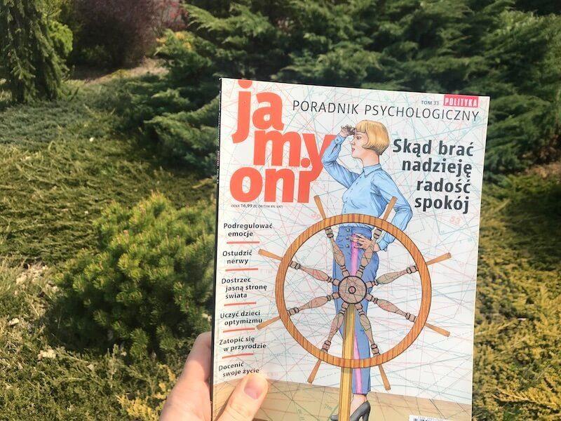 Ja My Oni - tom 33 Poradnik Psychologiczny Polityki - okładka